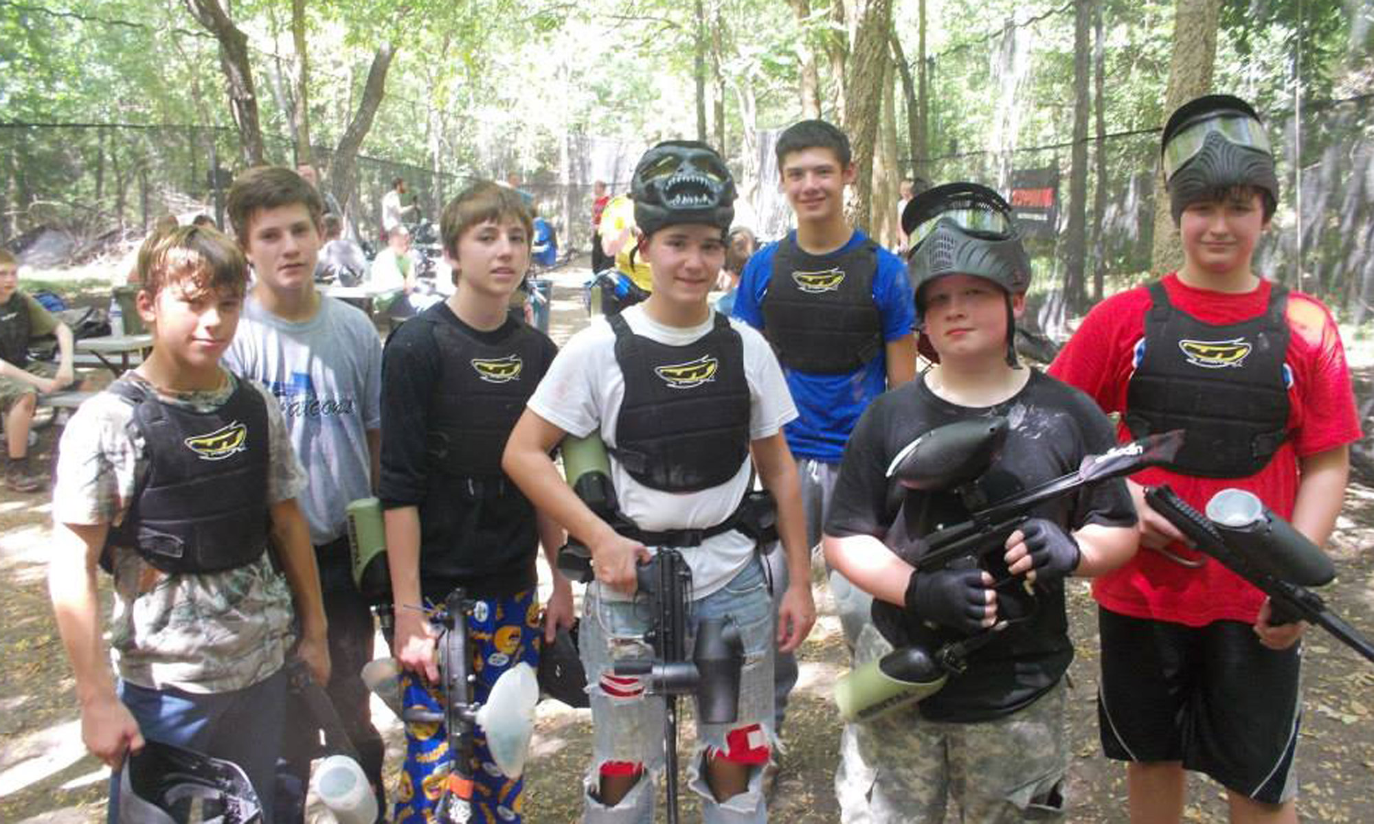 How Does A Paintball Party Work Birthday Ottawa